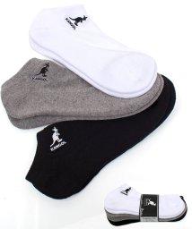 TopIsm/KANGOL(カンゴール)靴下3足セット!アンクル&クオーターソックス/502943285