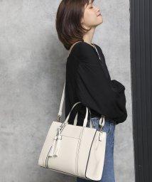 UNGRID bag/スムースタッセルトート/502943333