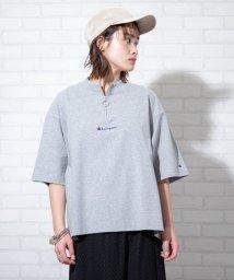 coen/Champion(チャンピオン) 別注ハーフジップTシャツ#/502943901