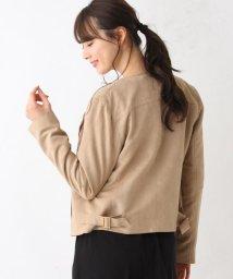 OPAQUE.CLIP/【My style is...掲載】【34(SS)、42(LL)WEB限定サイズ】バイアスジップライダース風ジャケット/502944364