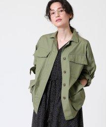 coen/リップストップミリタリーシャツジャケット/502944389