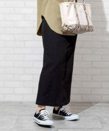 coen/【WEB限定】カラーペンシルスカート(カラースカート/タイトスカート/ロングスカート)/502944392