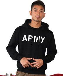 LUXSTYLE/ARMYパーカー/パーカー メンズ 長袖 プリント ARMY ストリート系/502944791
