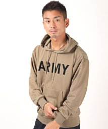 LUXSTYLE/ARMYパーカー/パーカー メンズ 長袖 プリント ARMY ストリート系/502944791