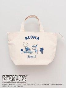 KAHIKO/【Kahiko】SNOOPY スヌーピービーチミニトートバッグ 44FP0101/502944841