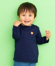 MIKI HOUSE HOT BISCUITS/ワンポイントシンプル長袖Tシャツ(70~120cm)/502471570