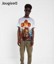 Desigual/Tシャツ半袖 MONTAIN/502854772