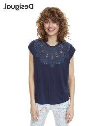 Desigual/Tシャツ半袖 BUDAPEST/502857565