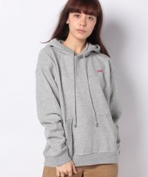 LEVI'S LADY/'UNBASIC' HOODIE SMOKESTACK HEATHER/502913403