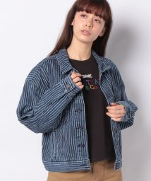 LEVI'S LADY/SLOUCH TRUCKER STRANGER THINGS PINSTRIPE/502913450