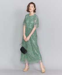BEAUTY&YOUTH UNITED ARROWS/BY DRESS フラワーレースロングドレス/502916128