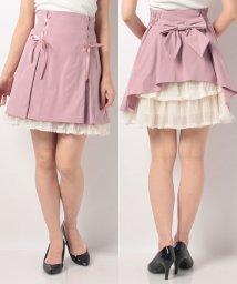 Secret Honey/サイドレースアップAラインスカート/502931317
