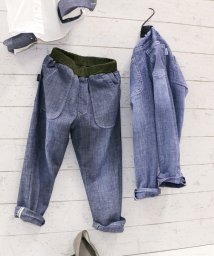 L.COPECK/STシャンブレー9分丈パンツ(150~160cm)/502935810