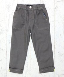 L.COPECK/麻混カラーシャンブレー9分丈パンツ(150~160cm)/502935812