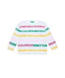 BENETTON (UNITED COLORS OF BENETTON GIRLS)/カラーロゴラインニット・セーター/502935975
