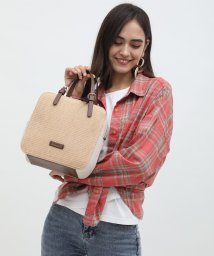UNGRID bag/ストロースクウェアハンドバッグ/502943331