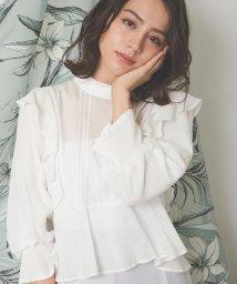 Noela/【美人百花4月号掲載】シアーブラウス /502946280