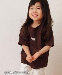 coen/【coen キッズ/ジュニア】1M[ile]ロゴTシャツ/502946401