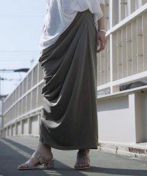 miette/タックドレープロングカットスカート/502946689