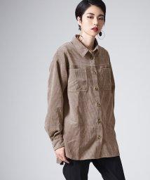 miette/オーバーサイズソフトコーデュロイシャツ/502946691