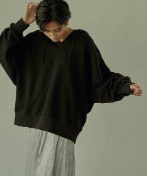 miette/デザインシームラインワイドパーカー/502946736