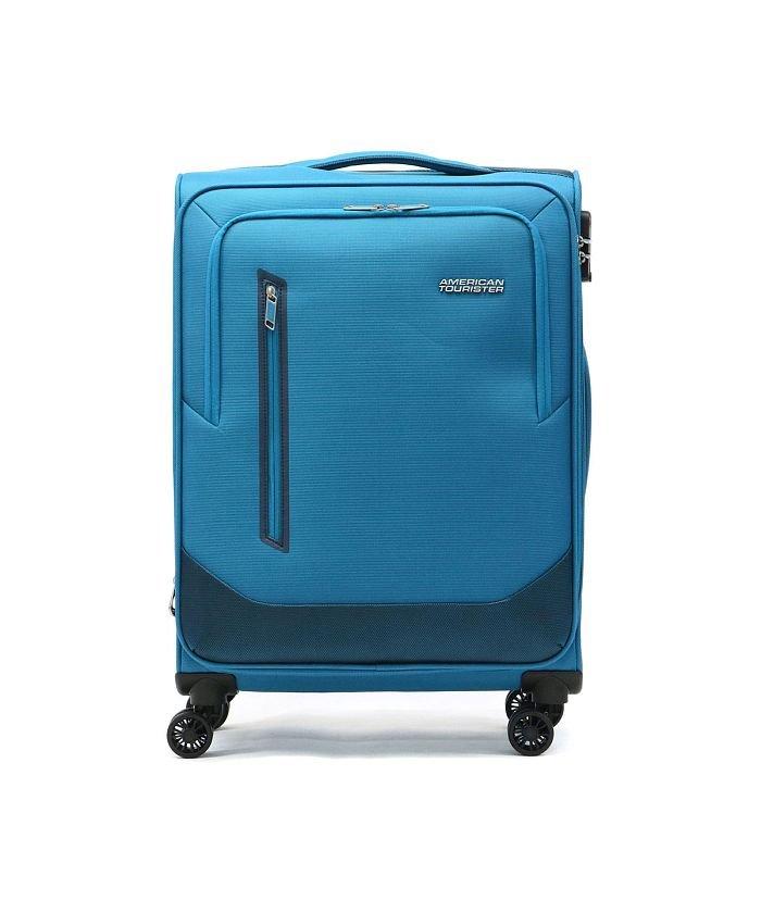 ギャレリア AMERICAN TOURISTER アメリカンツーリスター スピナー66エキスパンダブル スーツケース 76〜80L GL8−002 ユニセックス ブルー F 【GALLERIA】