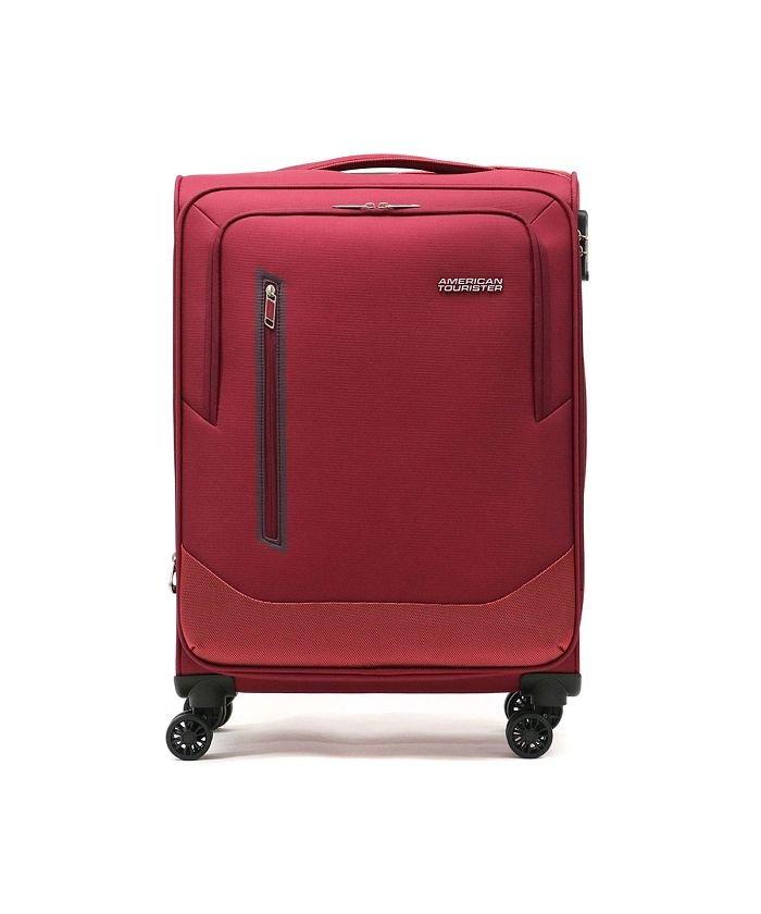 ギャレリア AMERICAN TOURISTER アメリカンツーリスター スピナー66エキスパンダブル スーツケース 76〜80L GL8−002 ユニセックス レッド F 【GALLERIA】