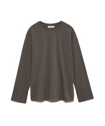 Mila Owen/カフスドッキングロングTシャツ/502948354