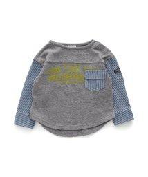 BREEZE/袖切替Tシャツ/502793371