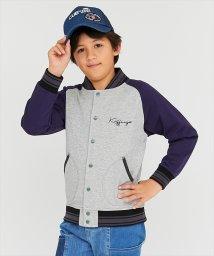 KRIFF MAYER(Kids)/配色裏毛スナップジャケット(130~160cm)/502933754