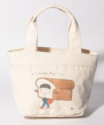 Laplace box/『Sちゃんまん』 SCM天ファスナーランチトート/502937332