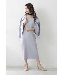 PROPORTION BODY DRESSING/ショートカーデ&ニットワンピセットアップ/502946032