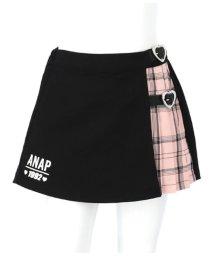 ANAP KIDS/チェックプリーツスカパン/502948815