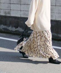 reca/ツイリースカーフ付きフレアスカート/502932130