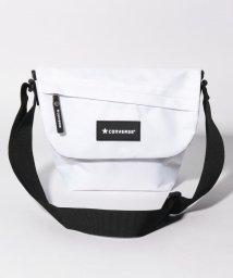 CONVERSE/STD FLAP SHOULDER BAG/502935893