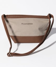 CONVERSE/CANVASxFAKE LATHER SHOULDER BAG/502935899