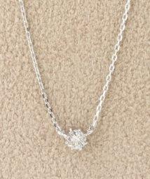 DECOUVERTE/18KWG 0.1ct ダイヤモンド ネックレス H&C/502950173