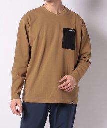 TARAS BOULBA/タラスブルバ/メンズ/ヘビーコットン 胸ポケットロングTシャツ/502951498