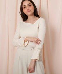 Couture Brooch/【WEB限定サイズ(LL)あり】アシンメトリーテレコカットソー/502951708