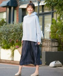 anyFAM/【洗える】オーロラサテンギャザー スカート/502952214