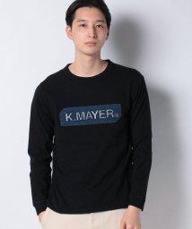 KRIFF MAYER/ロゴロンT(デニムエンボス)/502933742