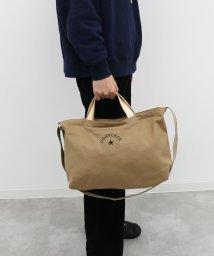CONVERSE/CANVAS LEATHER 2WAY SHOULDER BAG/502935877