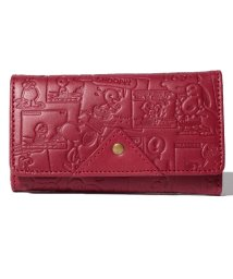 SNOOPY Leather Collection/SNOOPY/スヌーピー/ヴィンテージコミック柄キーケース/本革/502940280