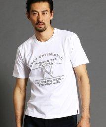 NICOLE CLUB FOR MEN/ロゴプリントTシャツ/502942773