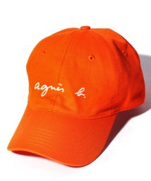 agnes b. HOMME/GT47 CASQUETTE ロゴキャップ/502947260