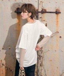 LIPSTAR/【WEB別注】テレコシアーハイネックカットソー/502952324