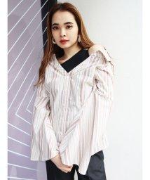 EMODA/シェイプラインドッキングシャツ/502952376