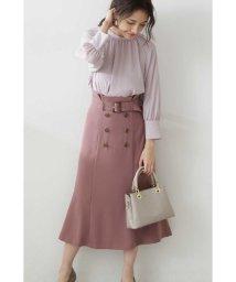 PROPORTION BODY DRESSING/◆フロント釦マーメイドミモレスカート/502952454