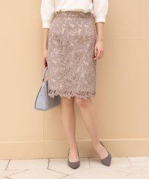 PROPORTION BODY DRESSING/◆リーフフラワーレースタイトスカート/502952455