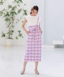 CAST:/★★ギンガムチェックタイトスカート/502916397